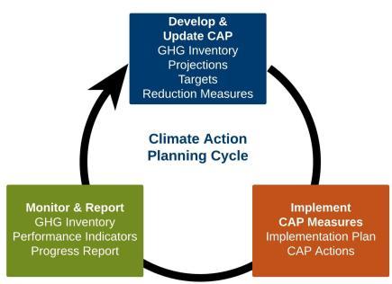 Figure 1 CAP Cycle